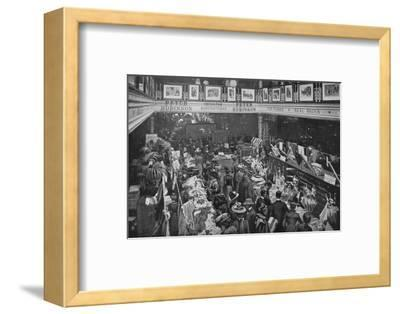 A sale day at Peter Robinson's department store, Oxford Street, London, c1903-Unknown-Framed Photographic Print