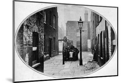 Ripe for eviction, London, c1901 (1901)-Unknown-Mounted Photographic Print
