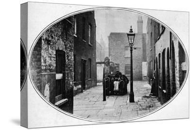 Ripe for eviction, London, c1901 (1901)-Unknown-Stretched Canvas Print