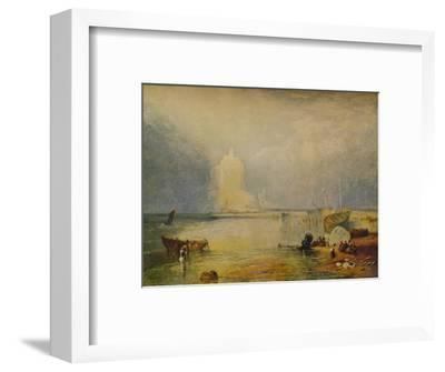 'St. Michael's Mount', c1834, (1938)-Unknown-Framed Giclee Print
