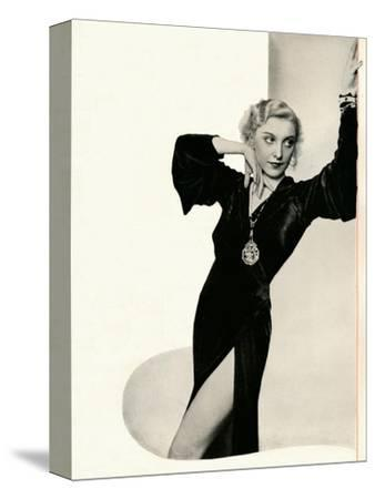 'Frances Day in person: Booth's Gin Brings Out The Best In Any Company', c1935-Unknown-Stretched Canvas Print