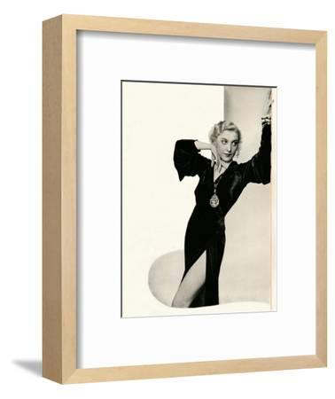 'Frances Day in person: Booth's Gin Brings Out The Best In Any Company', c1935-Unknown-Framed Photographic Print