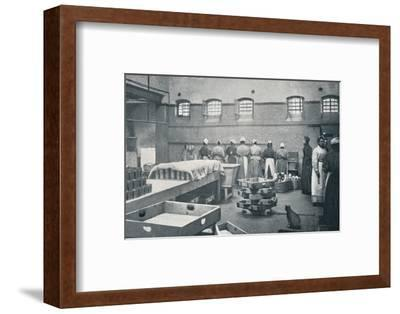 In the kitchen of Holloway Prison, London, c1901 (1901)-Unknown-Framed Photographic Print