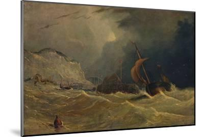 'Stormy Seascape', c1830, (1938)-Unknown-Mounted Giclee Print