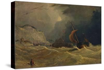 'Stormy Seascape', c1830, (1938)-Unknown-Stretched Canvas Print