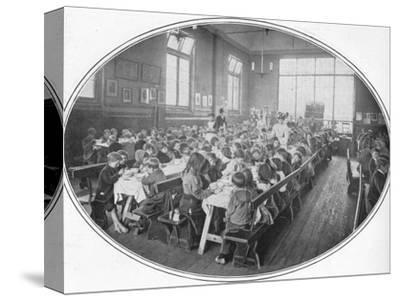 A Ragged School Union dinner, Camberwell, London, c1901 (1901)-Unknown-Stretched Canvas Print