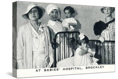 'At Babies' Hospital, Brockley', 1933 (1937)-Unknown-Stretched Canvas Print
