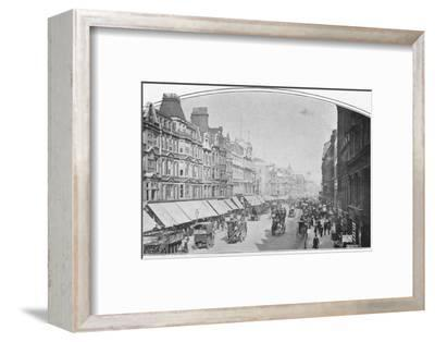 Oxford Street, London, c1900 (1901)-Unknown-Framed Photographic Print