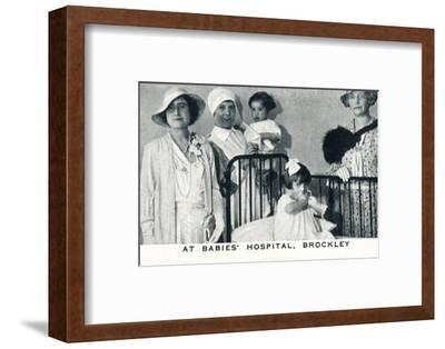 'At Babies' Hospital, Brockley', 1933 (1937)-Unknown-Framed Photographic Print