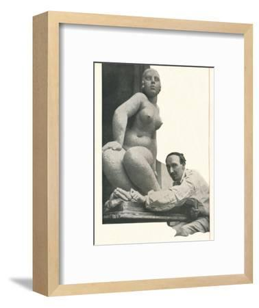 A cameo by Frank Dobson Booth's Has The Magic of Pygmalion-Unknown-Framed Photographic Print