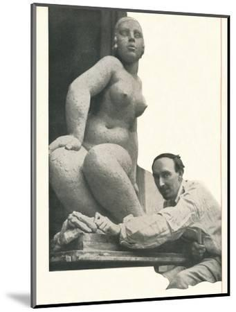 A cameo by Frank Dobson Booth's Has The Magic of Pygmalion-Unknown-Mounted Photographic Print