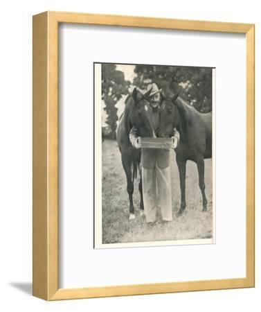 Tom Walls: Would That The Pedigree Of A Horse Were As Reliable A Guide As The Name Of Booth's-Unknown-Framed Photographic Print