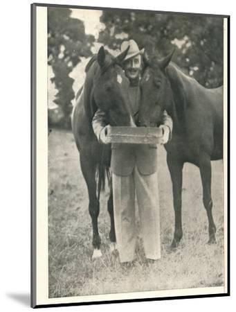 Tom Walls: Would That The Pedigree Of A Horse Were As Reliable A Guide As The Name Of Booth's-Unknown-Mounted Photographic Print