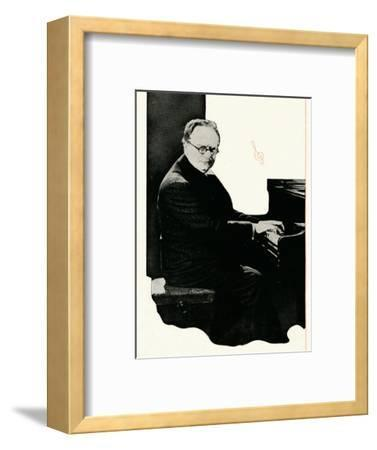 Recital by Mark Hambourg Whatever The Hallmark Of Genius May Be, Booth's Is The Hallmark of Gin'-Unknown-Framed Photographic Print