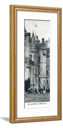 'Glamis Castle', c1937 (1937)-Unknown-Framed Photographic Print