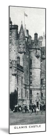 'Glamis Castle', c1937 (1937)-Unknown-Mounted Photographic Print