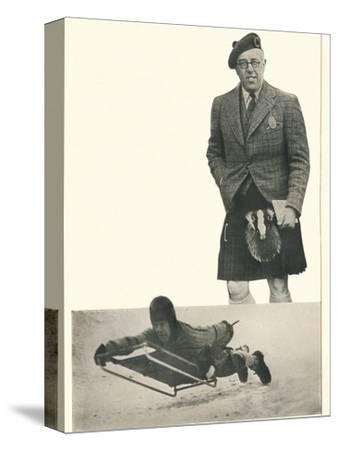 'A word from Lord Northesk I Bank On Booth's At Every Turn', c1935 (1935)-Unknown-Stretched Canvas Print