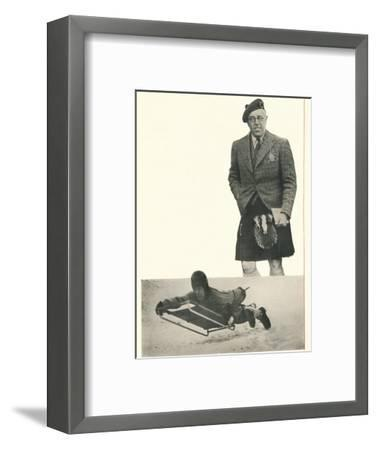 'A word from Lord Northesk I Bank On Booth's At Every Turn', c1935 (1935)-Unknown-Framed Photographic Print