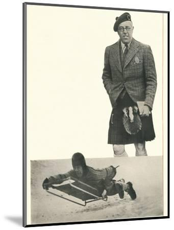 'A word from Lord Northesk I Bank On Booth's At Every Turn', c1935 (1935)-Unknown-Mounted Photographic Print