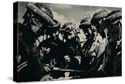 'Severe problems faced the tank crews', c1941 (1944)-Unknown-Stretched Canvas Print