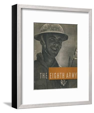Front cover of The Eighth Army, 1944-Unknown-Framed Photographic Print