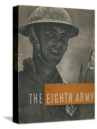 Front cover of The Eighth Army, 1944-Unknown-Stretched Canvas Print