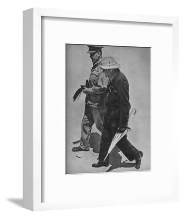 'August at Alamein', 1942 (1944)-Unknown-Framed Photographic Print