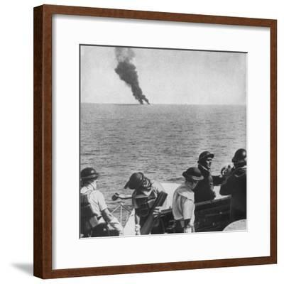 'The fight begins', 1943-Unknown-Framed Photographic Print