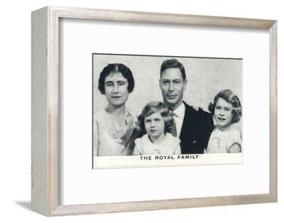 'The Royal Family', c1936 (1937)-Unknown-Framed Photographic Print