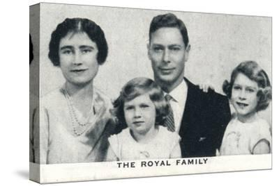 'The Royal Family', c1936 (1937)-Unknown-Stretched Canvas Print