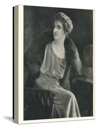 Lady Oxford says It Is Popular To Be Liberal With Booth's Gin-Unknown-Stretched Canvas Print
