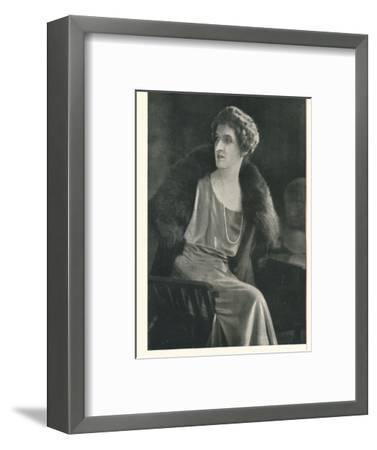Lady Oxford says It Is Popular To Be Liberal With Booth's Gin-Unknown-Framed Photographic Print
