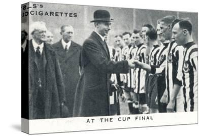 'At the Cup Final', 1924 (1937)-Unknown-Stretched Canvas Print