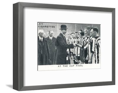 'At the Cup Final', 1924 (1937)-Unknown-Framed Photographic Print