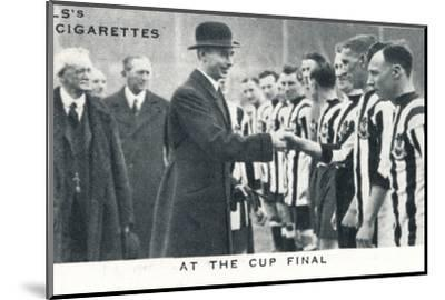 'At the Cup Final', 1924 (1937)-Unknown-Mounted Photographic Print