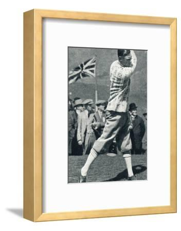 'A Game of Golf', 1924 (1937)-Unknown-Framed Photographic Print