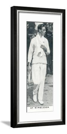 'At Wimbledon', 1926 (1937)-Unknown-Framed Photographic Print