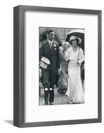 'At the Brussels Exhibition', 1935 (1937)-Unknown-Framed Photographic Print