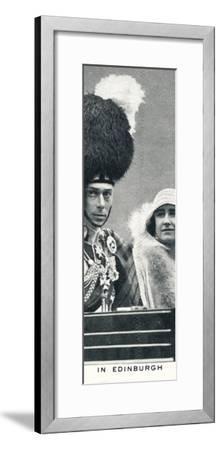 'In Edinburgh', 1929 (1937)-Unknown-Framed Photographic Print