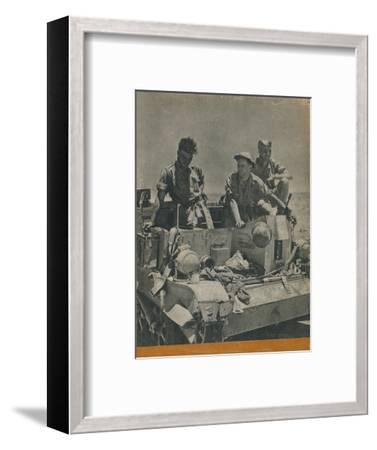 Back cover of The Eighth Army, 1944-Unknown-Framed Photographic Print