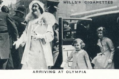 'Arriving at Olympia', 1935 (1937)-Unknown-Framed Photographic Print