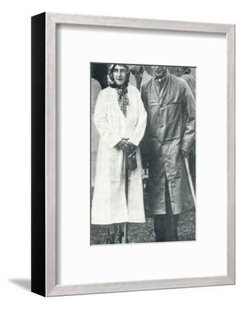 'Visit to a Durham Pit', 1936 (1937)-Unknown-Framed Photographic Print