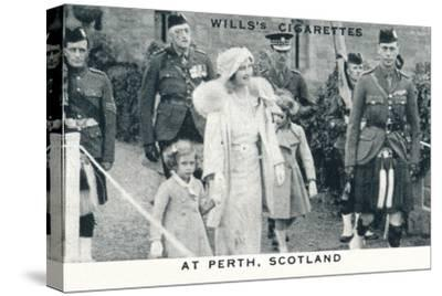 'At Perth, Scotland', 1935 (1937)-Unknown-Stretched Canvas Print