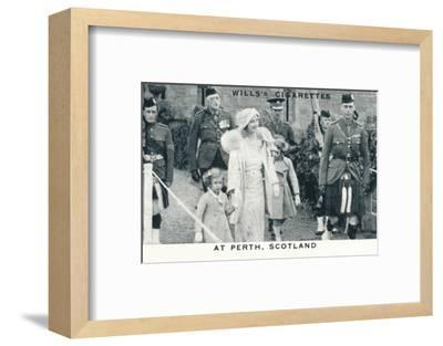 'At Perth, Scotland', 1935 (1937)-Unknown-Framed Photographic Print