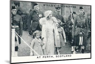 'At Perth, Scotland', 1935 (1937)-Unknown-Mounted Photographic Print