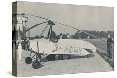 The Hafner Gyroplane, c1935 (c1937)-Unknown-Stretched Canvas Print