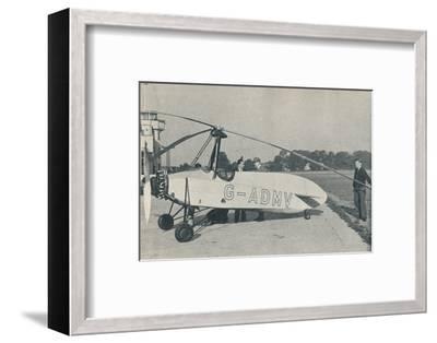 The Hafner Gyroplane, c1935 (c1937)-Unknown-Framed Photographic Print