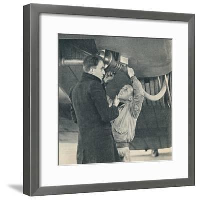 Method of refuelling aircraft devised by Sir Alan Cobham, c1936 (c1937)-Unknown-Framed Photographic Print