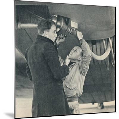 Method of refuelling aircraft devised by Sir Alan Cobham, c1936 (c1937)-Unknown-Mounted Photographic Print