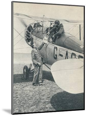 Before the first flight over Mount Everest, 1933 (c1937)-Unknown-Mounted Photographic Print